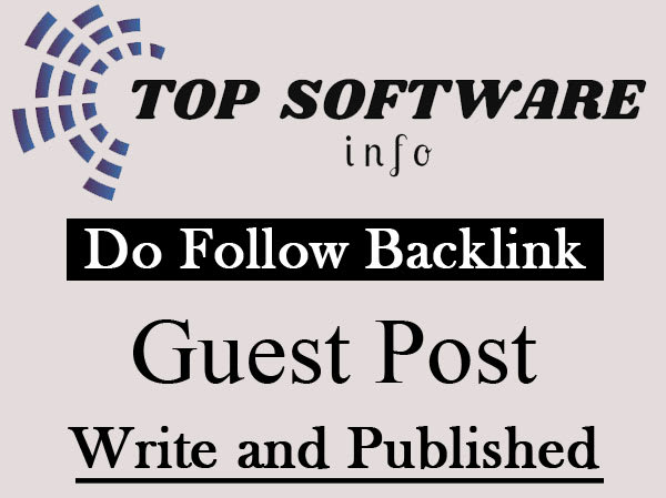 Publish Guestpost my software tech blog dofllow Backlink