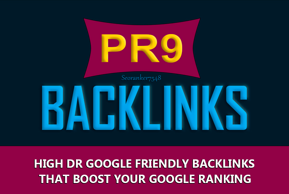 60 Pr9 Highest Authority Backlinks