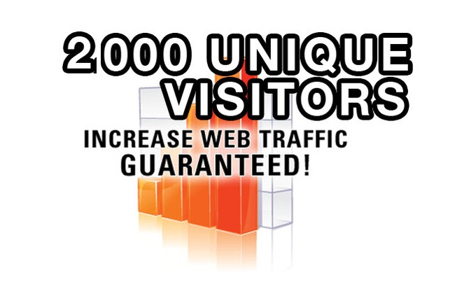 2000 Targeted traffic to your website or blog