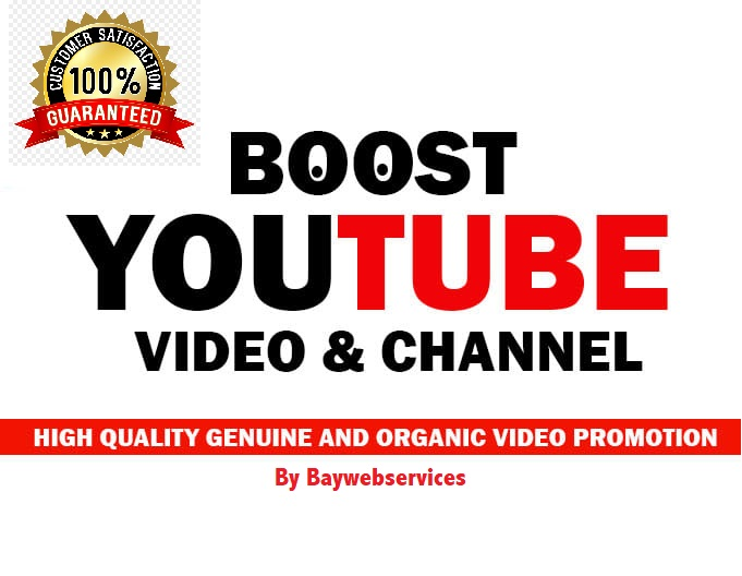 Natural Non-Drop YouTube Video Promotion and Marketing