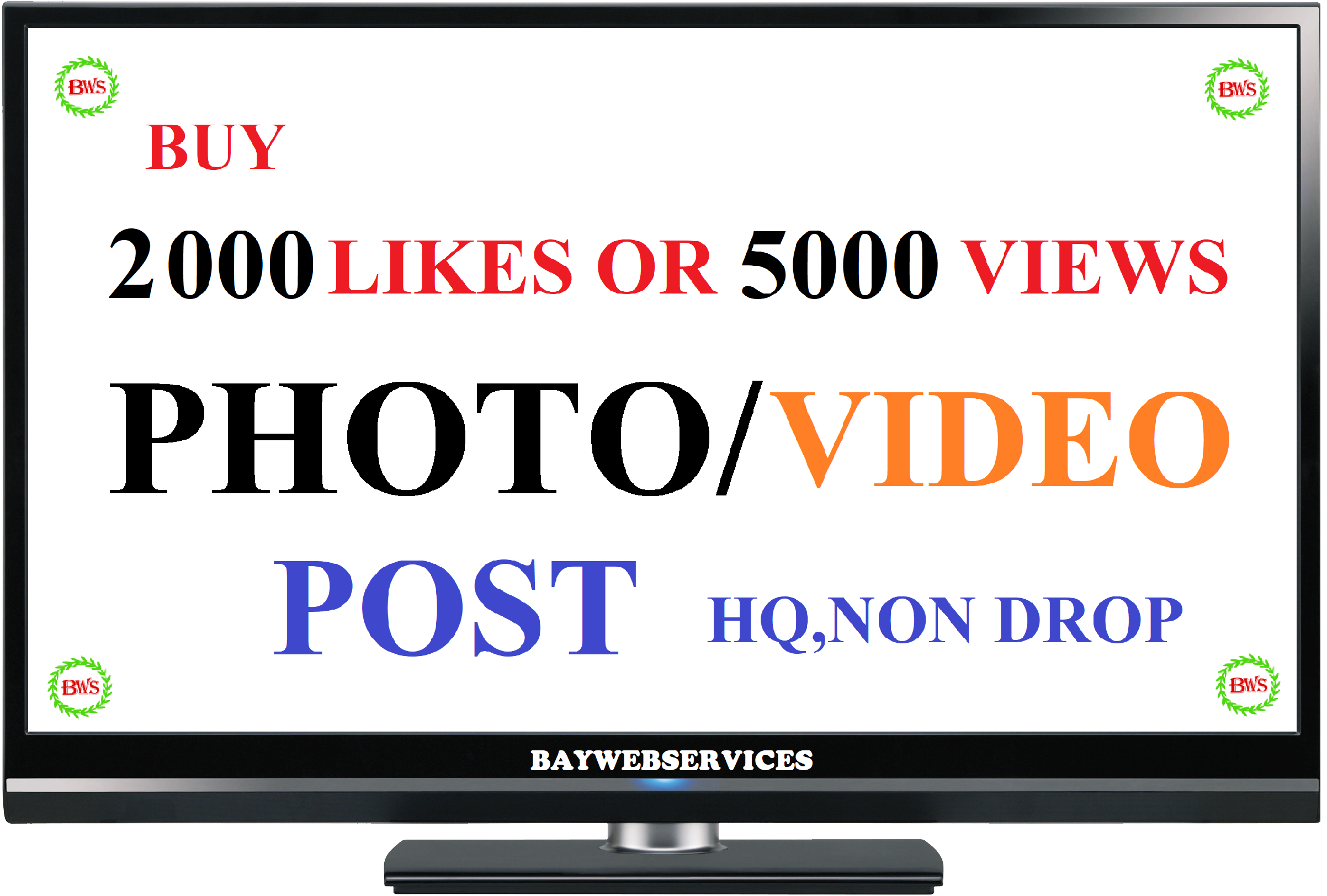 Instant start 2000 phot0 as or 5000 vide0 scene promotion (Price Incresed)