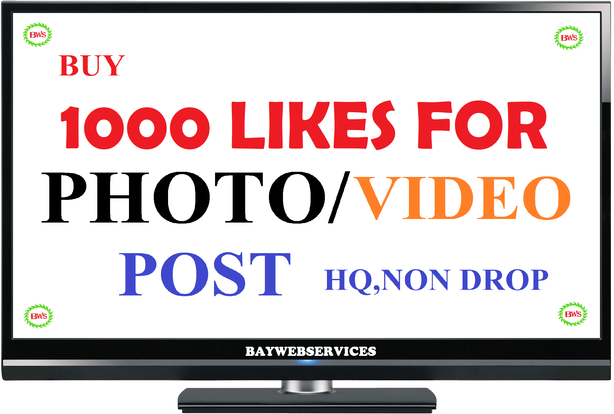 INSTANT 1000 Picture OR 5000 Video-promotion instant