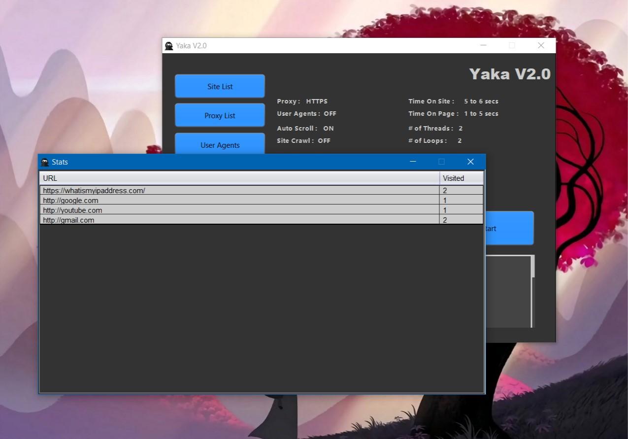 Yaka v2.0 - Traffic Bot (unlimited Web Traffic and Videos)