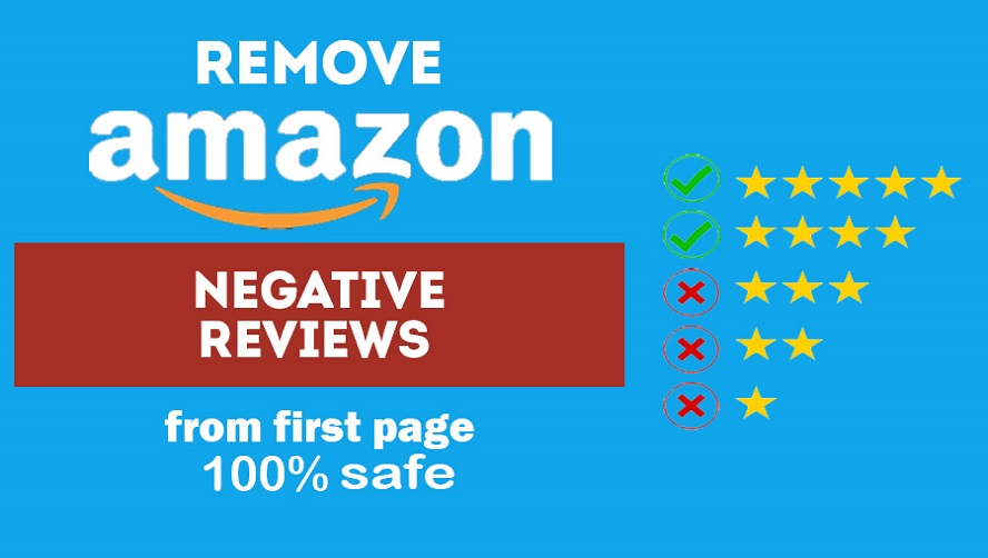 Manually Remove One AMZ Negative Review From First Page