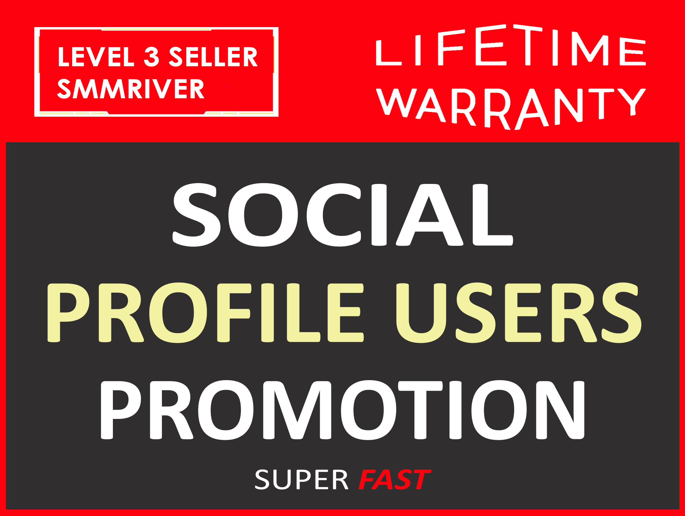 SOCIAL PROFILE FOLLOWERS REAL HIGH QUALITY AND NON DROP PROMOTION