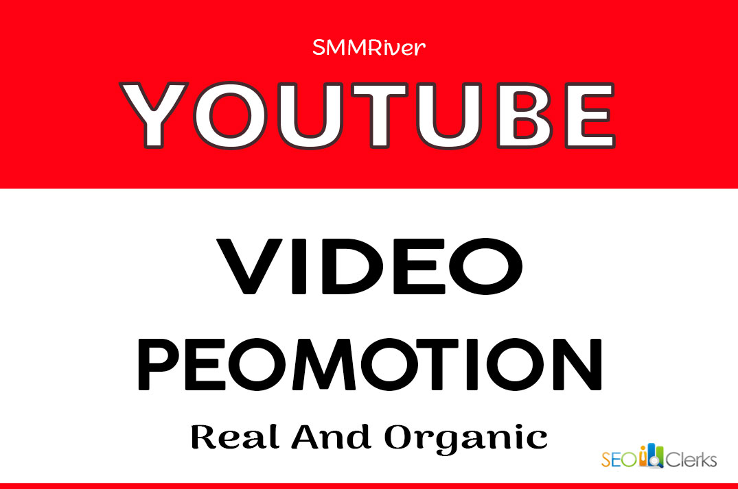 YOUTUBE VIDEO PROMOTION AND SOCIAL MARKETING SERVICE