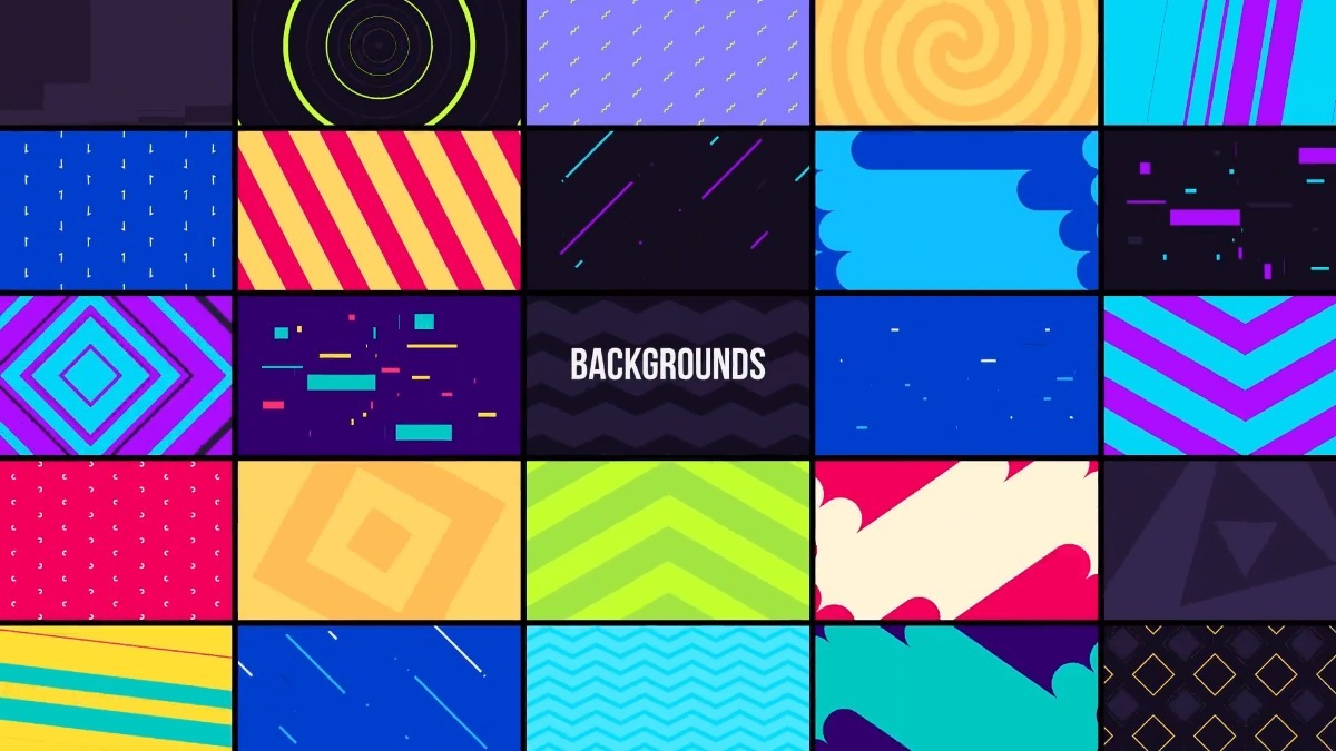 750 Elements Editable Templates After Effects Graphics Pack