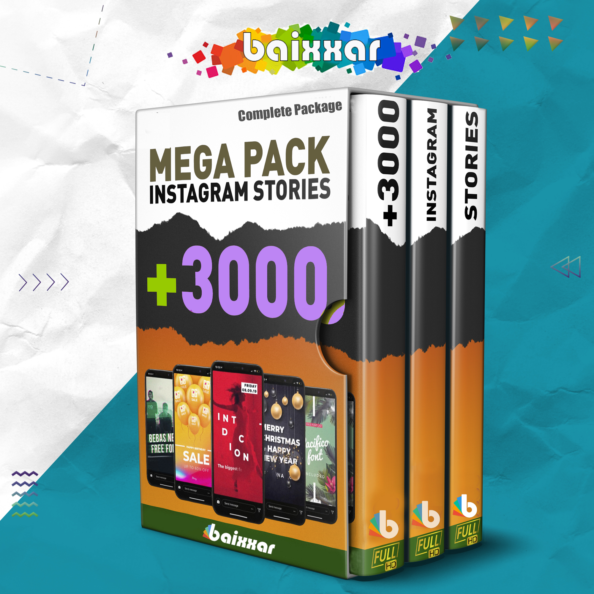 3000+ Instagram Stories Templates After Effects Animated