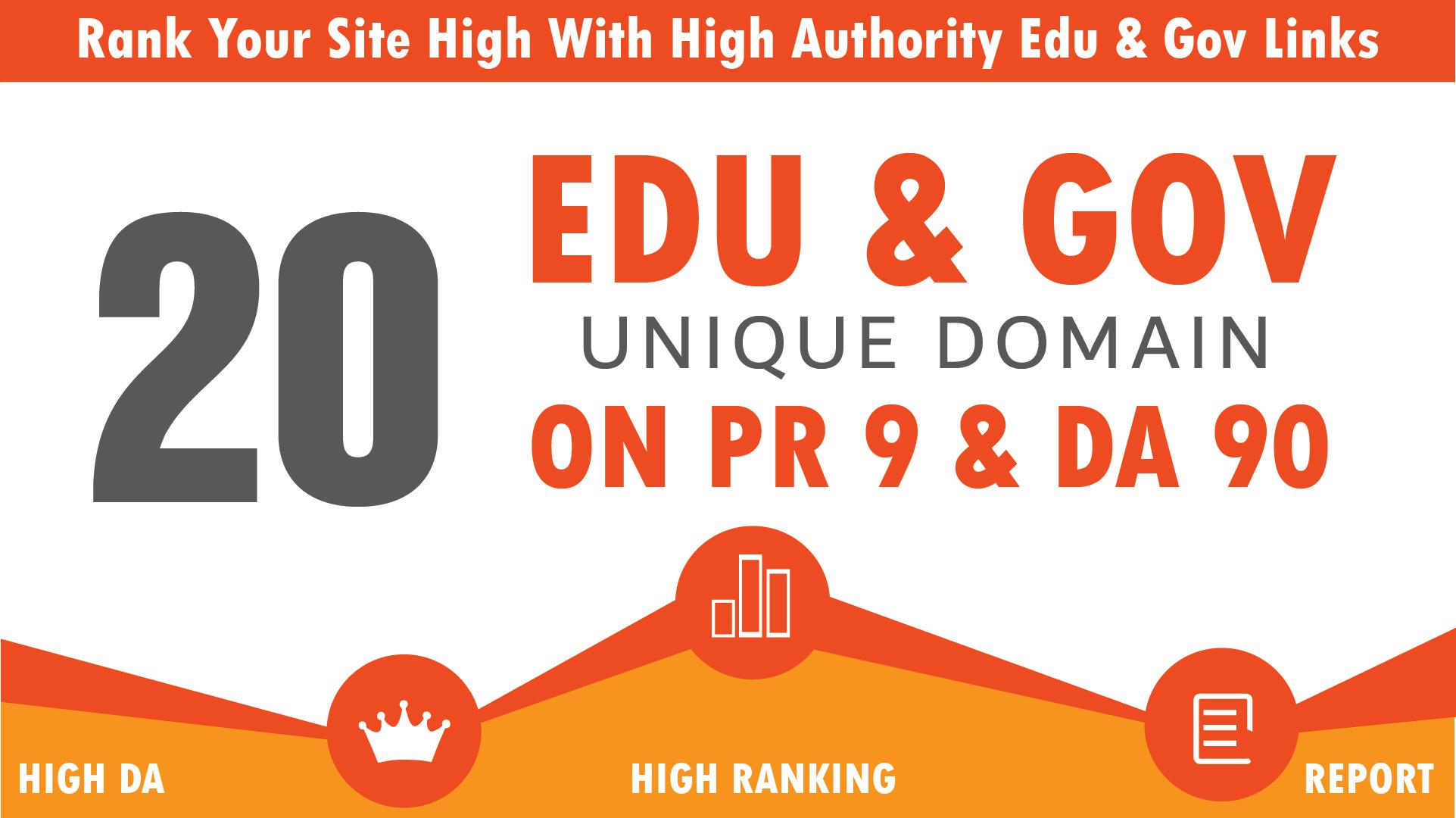 Add 20+ Edu/Gov High Quality Profile Backlinks
