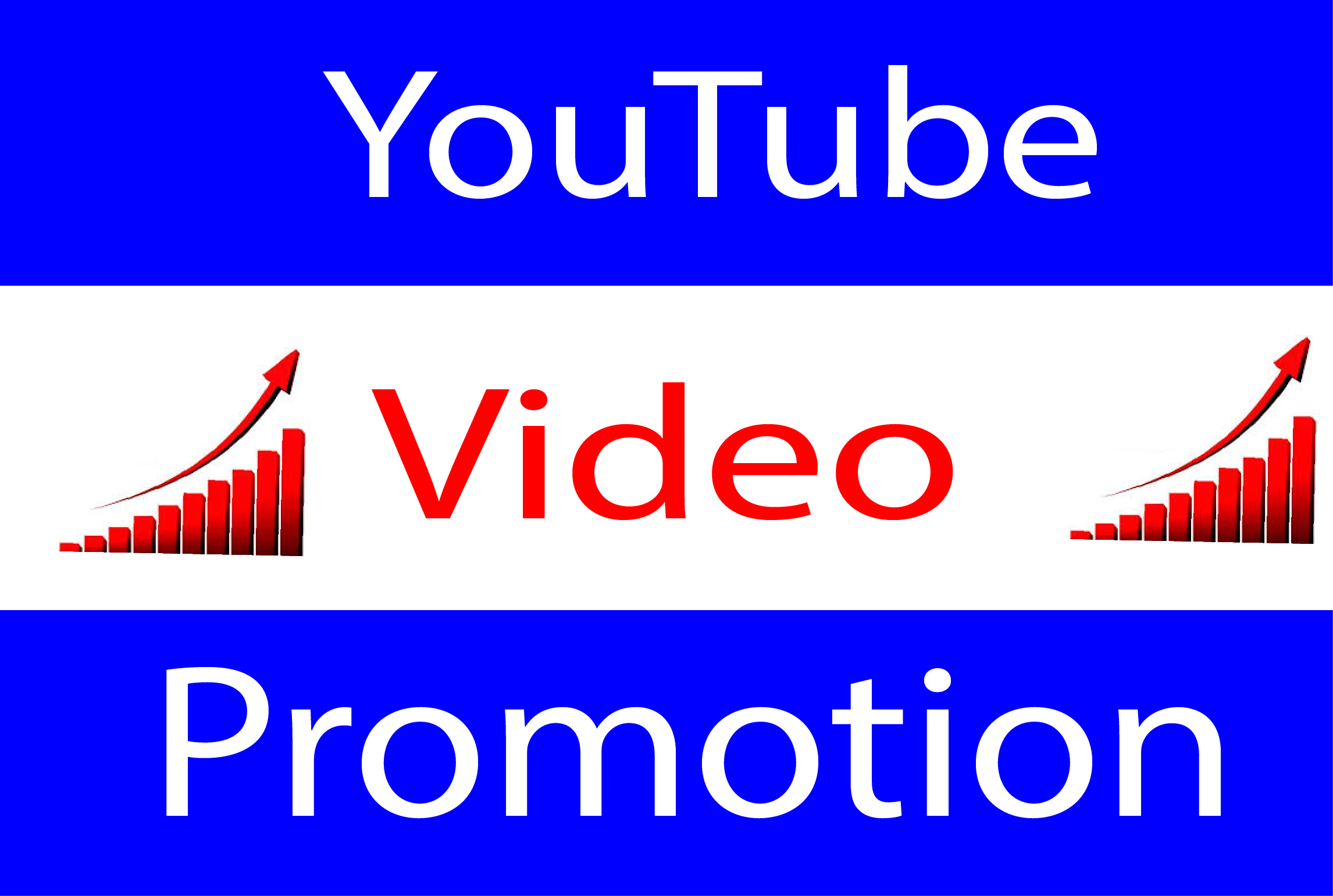YouTube Video Promotion High Quality Worldwide Real User