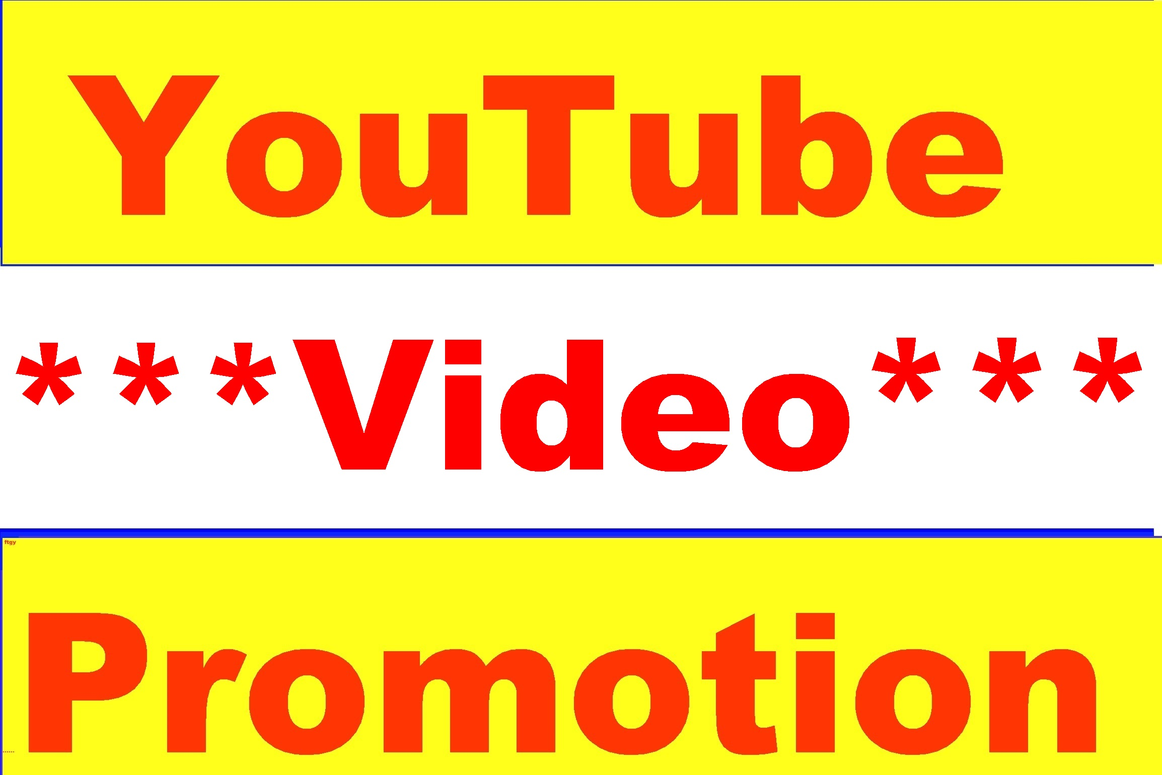 YouTube Video Promotion Real Active Worldwide User