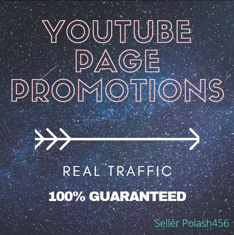 Good YouTube Page Promotions And Fast Service