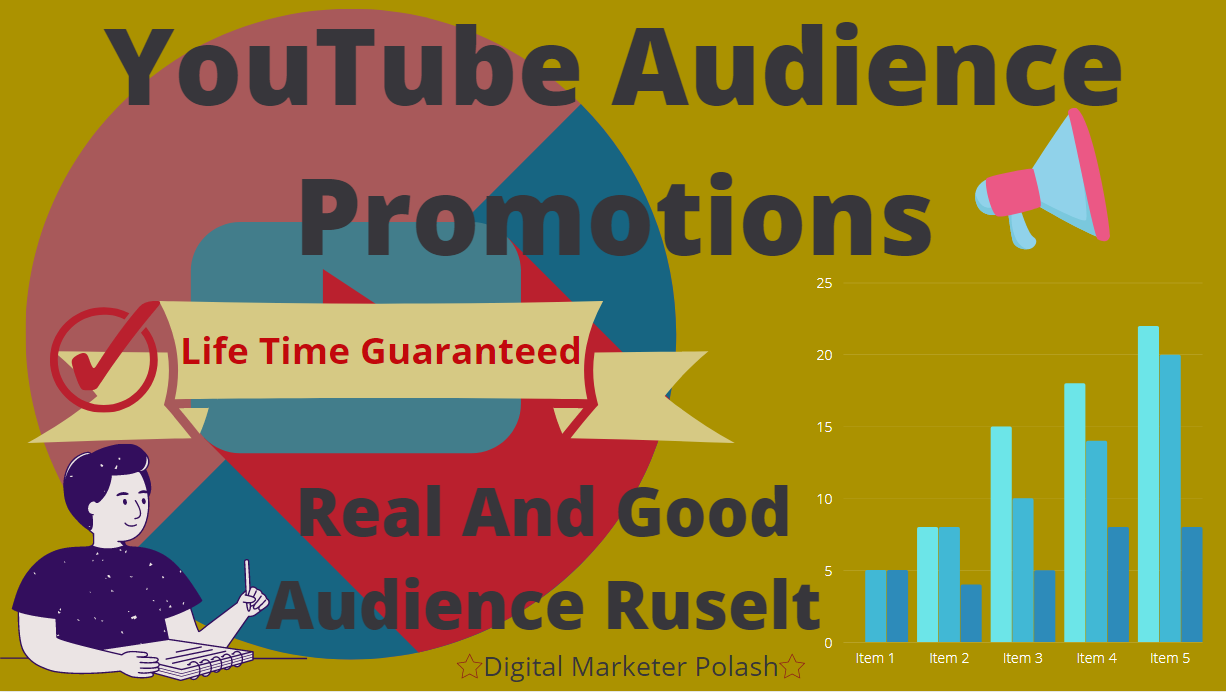I Do Promote Your YouTube To A Real And Organic Audience