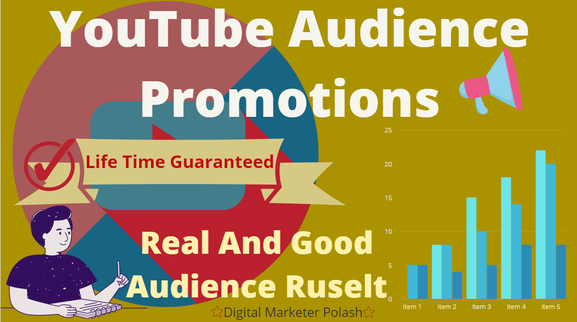 I Do Promote Your YouTube Account To Real Organic Audience Growth