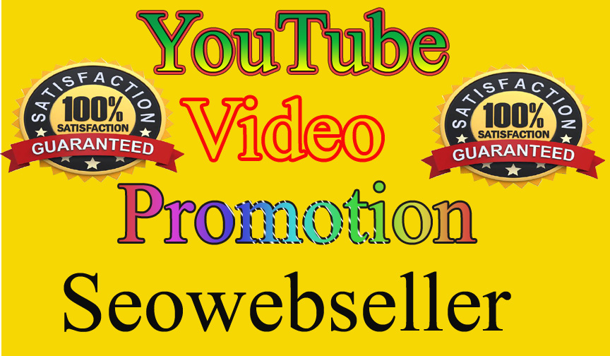 Fantastic offer YouTube Video Promotion Social Media Marketing