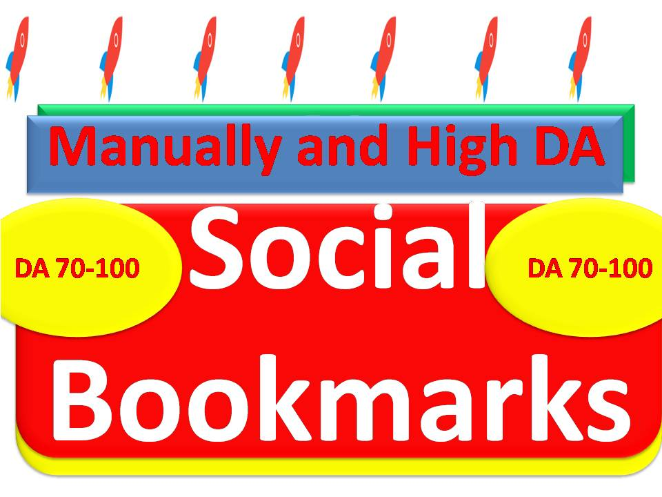 Push your Link on top with 85 High DA Social Bookmarking Backlinks