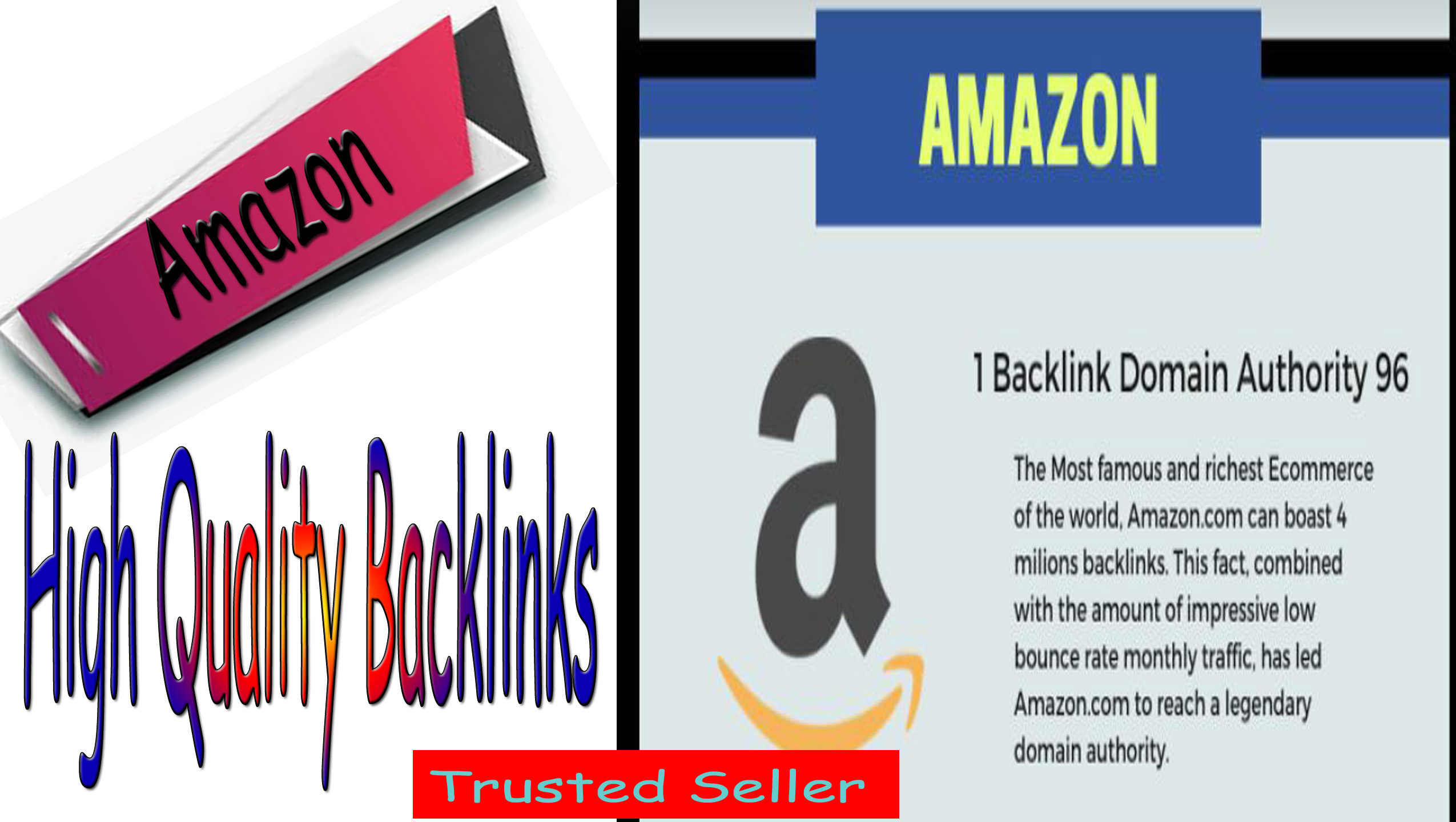 Shoot your Link with 1 Amazon or Incredible Backlinks with fast delivery