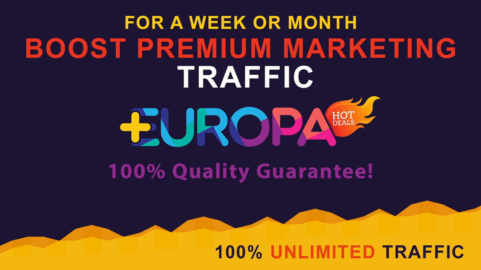 BOOST PREMIUM MARKETING TRAFFIC
