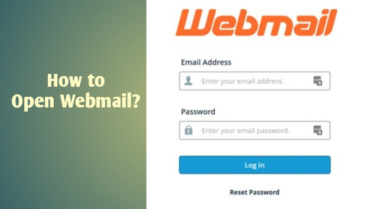 i will create webmail for you professional website