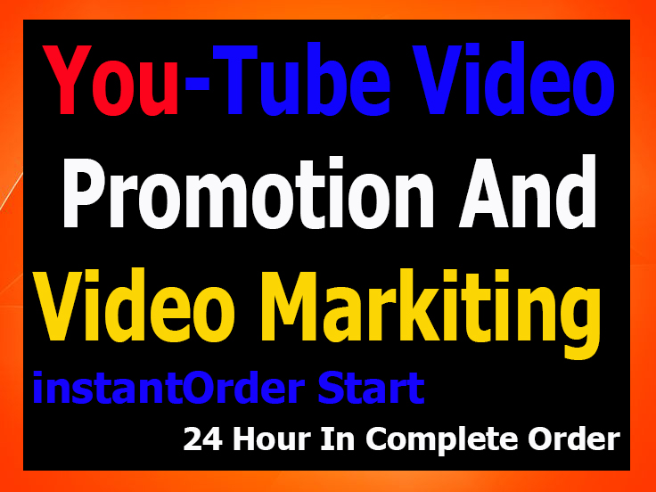 YouTube Video Thumbs up,  High-quality Promotion faster 24Hour in Complete