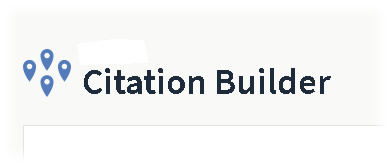 Location Citation Builder Accuracy & Completeness 5 Submission