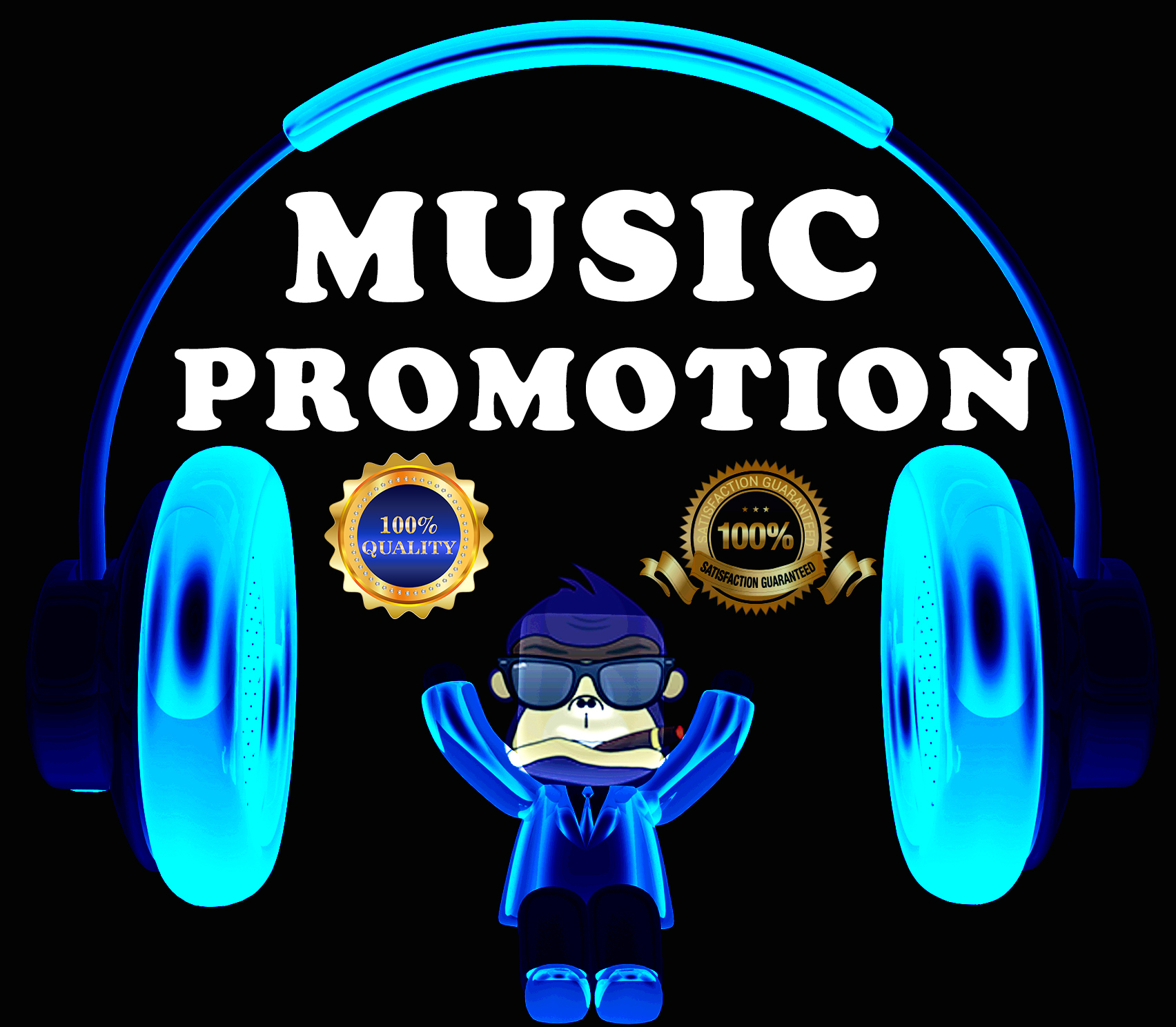 I Will Do High Quality TespinRilla's Music Promotion