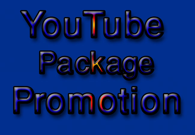 Do YouTube Combained Package Promotion via World wide User