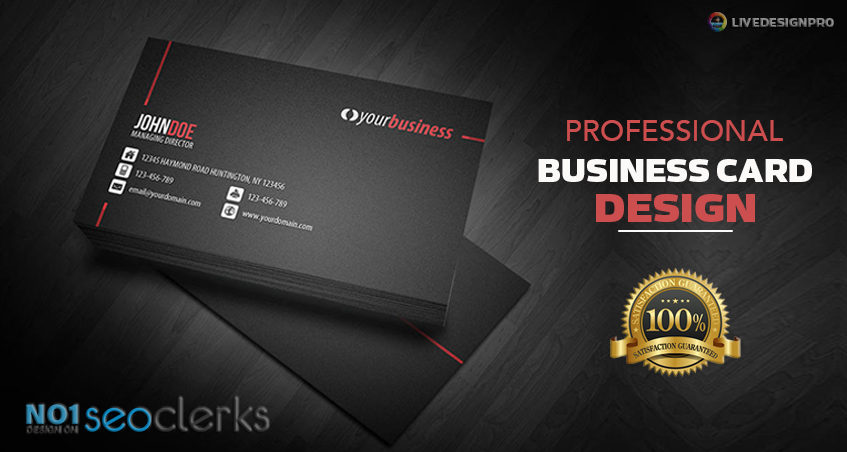 do creative and professional business card design