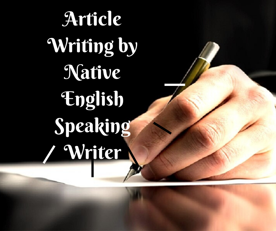 Write 1 article of 1000 words by native English speaking writers
