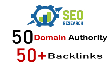 50 domain authority 50 plus backlinks
