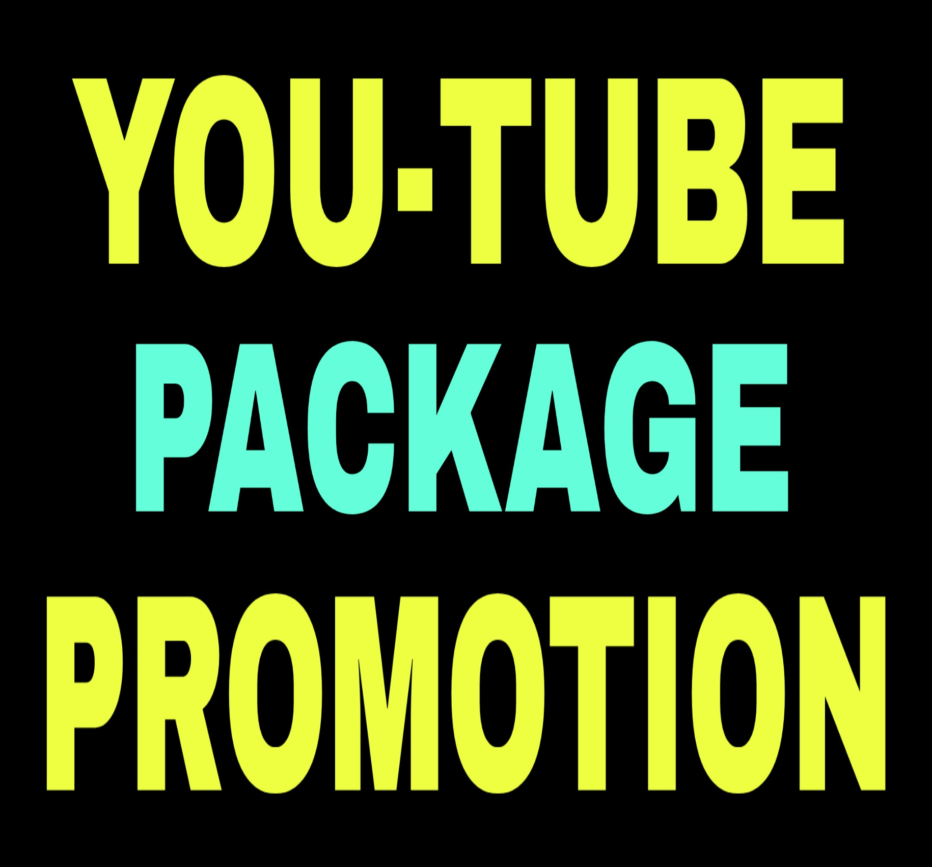 YouTube Package Promotion & Social Media Marketing Very Fast Delivery