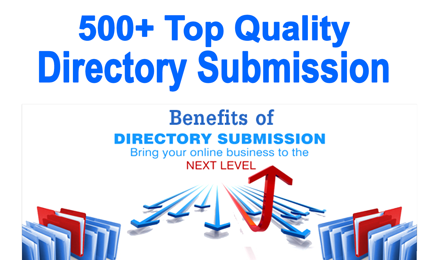 500+ High-Quality Manual Directory Submission Backlinks on PR9 to PR3