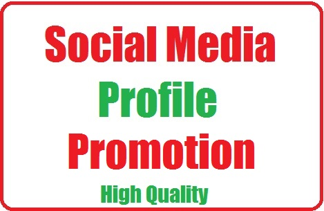 Get Social Profile Promotion High-quality with fast delivery