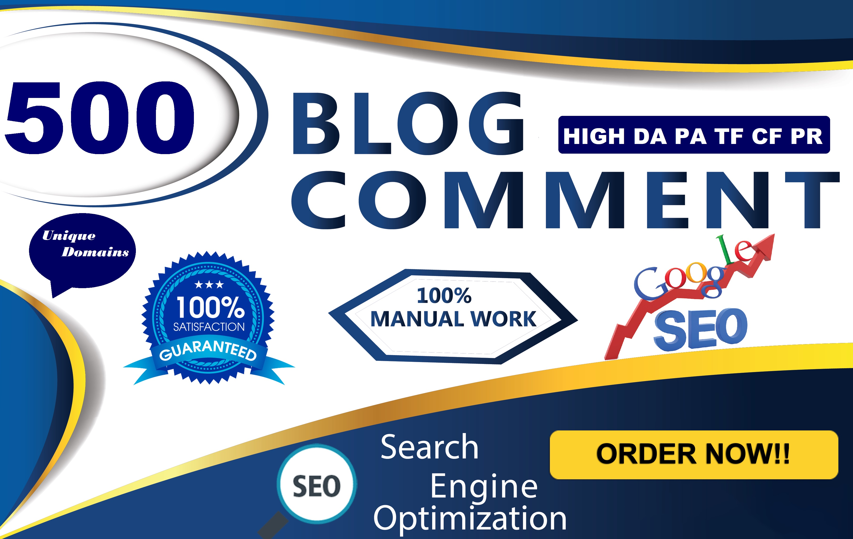 Create 500 High Quality Blog Comments Backlinks