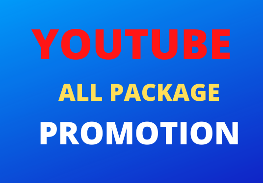 Instance Start Genuine All In One Package YouTube Video promotion Social Media Marking
