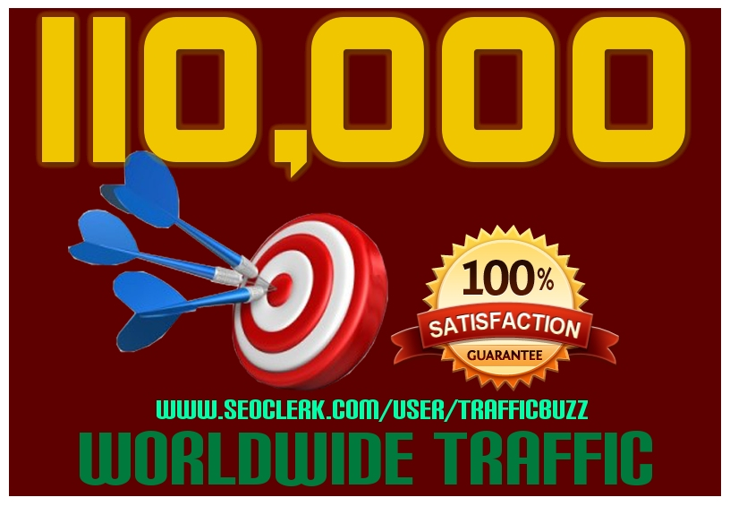 DRIVE 110,000+ TARGETED Human Traffic to your Website or Blog