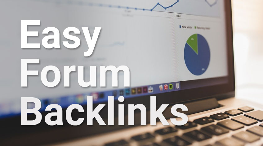 Create link from forum for your website, blog in 12h,  easy & fast delivery