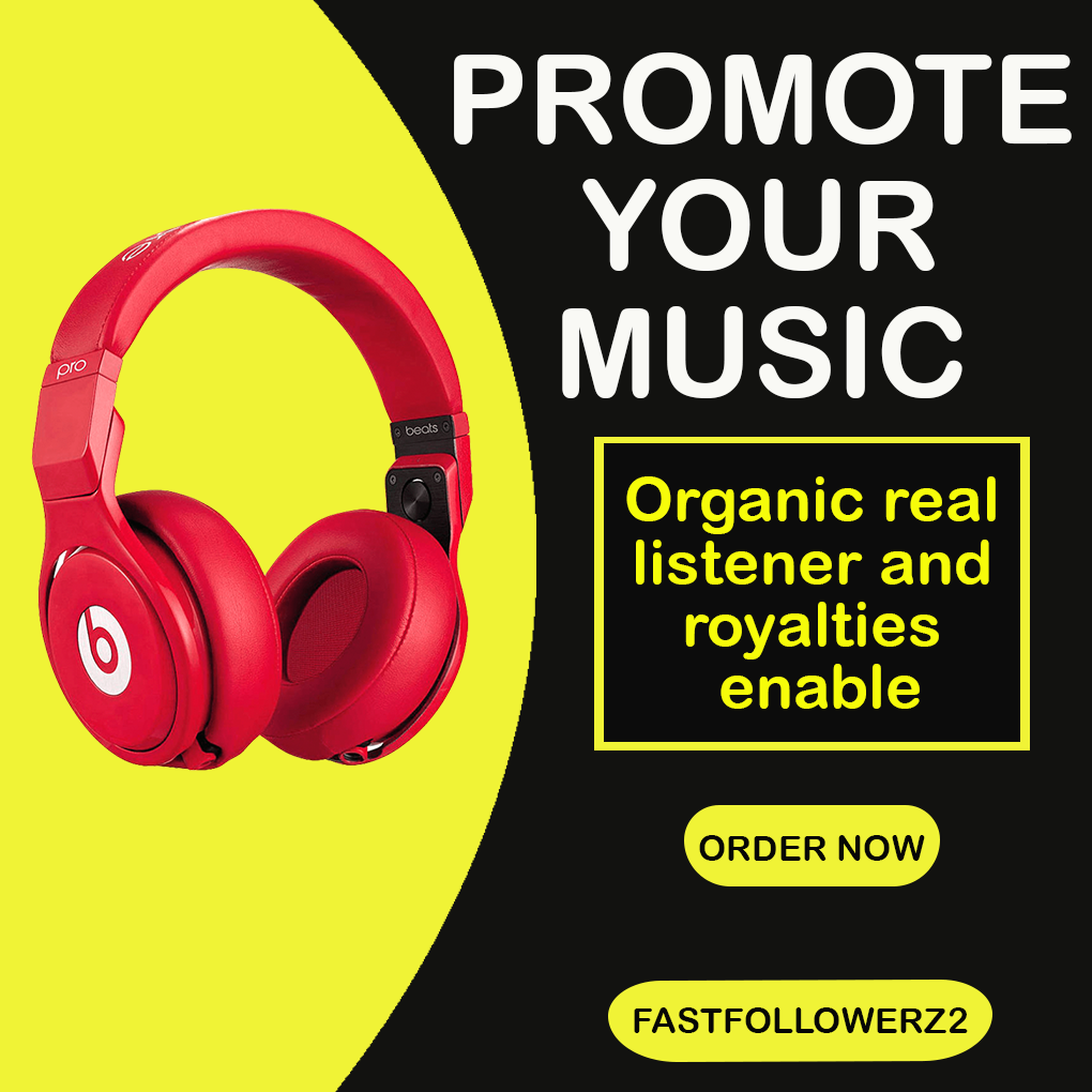 Premium Music promotion for your Single Track uniqe listener
