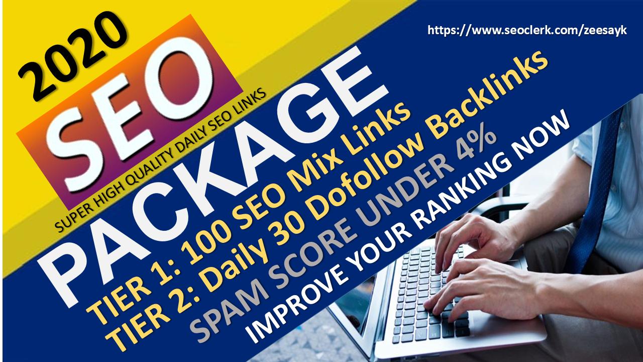 Increase Your Website Rank on Google,  30 Days SEO Backlinks Manually