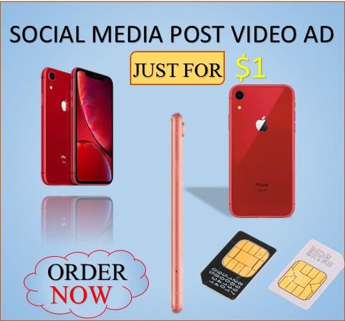 All Social media video post ad
