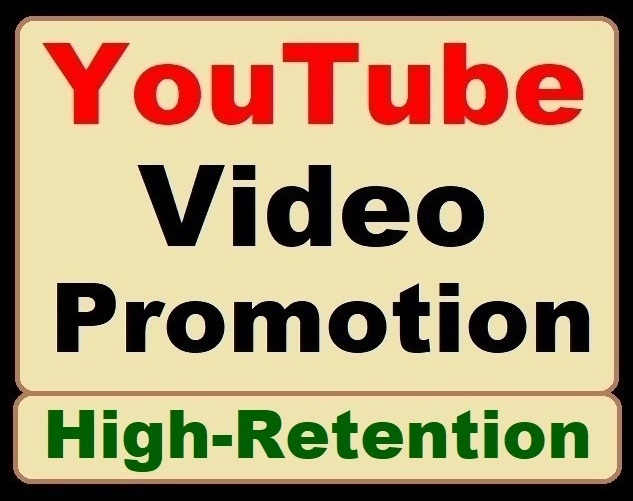 High Retention YouTube Video Promotion All in One Service