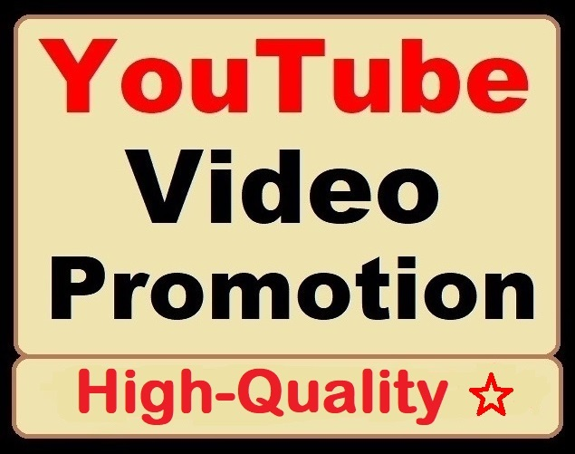 High Retention YouTube Video Organic Promotion and Marketing