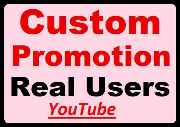 Video Views, Comments Promotion via Real Profile, High-quality accounts