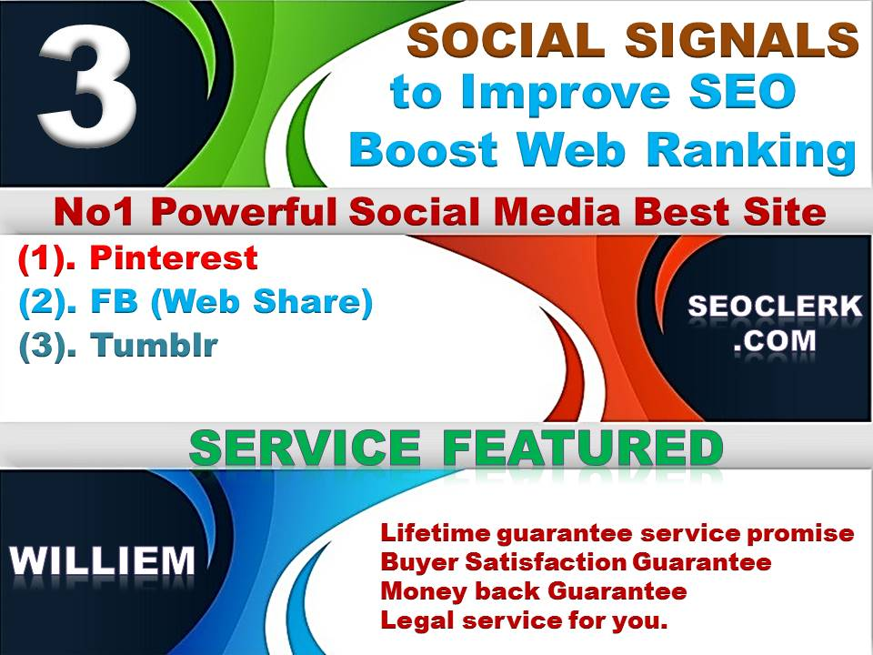 Powerfull Top 3 Platform 13,100 Webshare/Tumblr/Pinterest /Mixed/Social Signals/Backlinks/Bookmarks