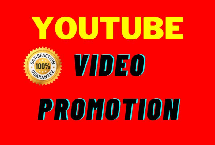 I Will do Instant Start Active User YouTube Video Social Media Maekiting Promotion