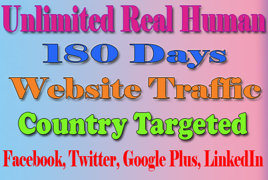 Website Traffic With Real Human Country Targeted For ...