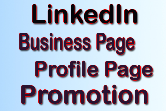 Increase Your LinkedIn Business page Profile page Promotion