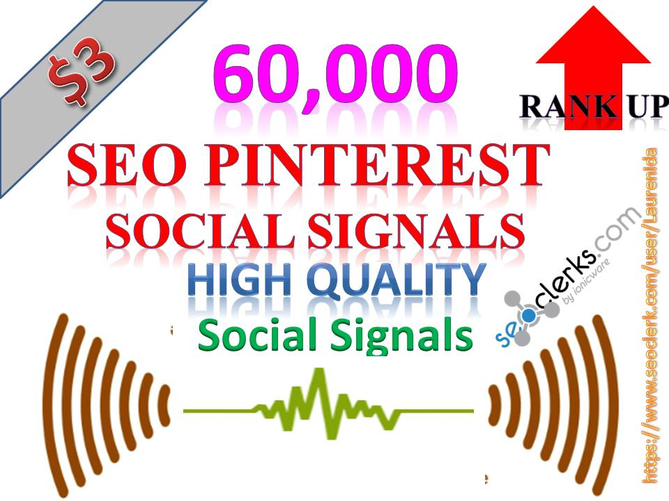 Rocket Delivery 60,000 High Quality Pinterest Share Social Signals to Improve SEO Boost Web Ranking