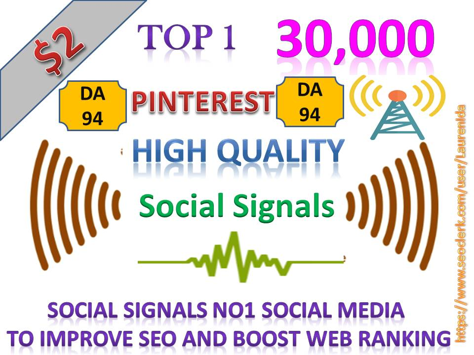 Rocket Delivery 30,000 High Quality Pinterest Share Social Signals to Improve SEO Boost Web Ranking