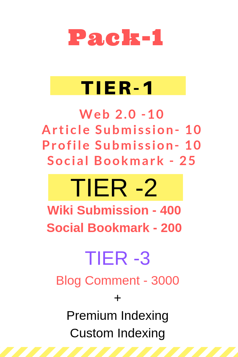 Tiered Foundation Link Building for Your Website
